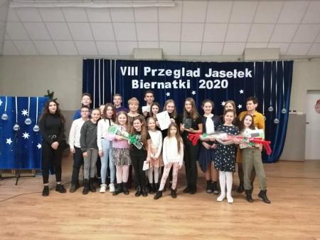 """VIII Przegląd Jasełek Biernatki 2020."""