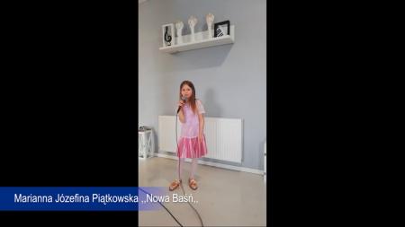 Zgłoszenie - IX Gala Utalentowanych Młodych Wielkopolan - Marianna Piątkowska