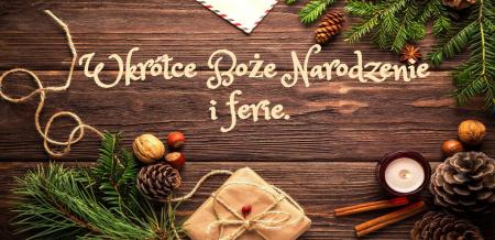 Świetlica szkolna - Boże Narodzenie i ferie.
