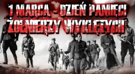 1 Marca - Dzień Pamięci Żołnierzy Wyklętych.